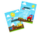 Personalised Kids' Party Invitations 3