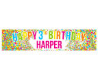 Personalised Kids' Party Banner 2
