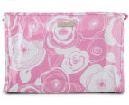 Wicked Sista Ava Large A-Line Cosmetic Bag - Pink 2