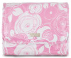 Wicked Sista Ava Fold Out Cosmetic Bag w/ Hook - Pink 2
