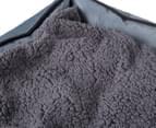 VitaPet 80x65cm Fleece Pet Bed - Grey 6