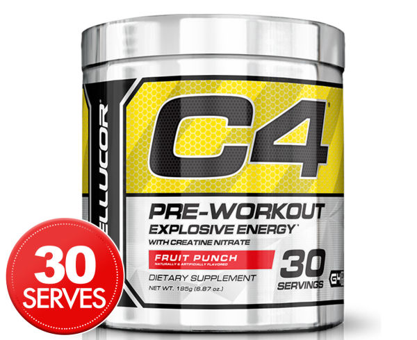 Cellucor C4 Energy Creatine Nitrate Fruit Punch