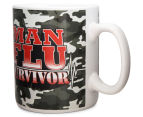 Man Flu Survivor Giant Coffee Mug  4