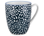 Aspen 10cm Floral Mug 4-Pack - Ink Blue 2