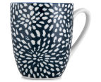 Aspen 10cm Floral Mug 4-Pack - Ink Blue 3