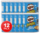 12 x Pringles Salt & Vinegar 40g 1
