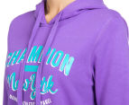 Champion Women's VF NY Hoodie - Vibrant Lilac 6