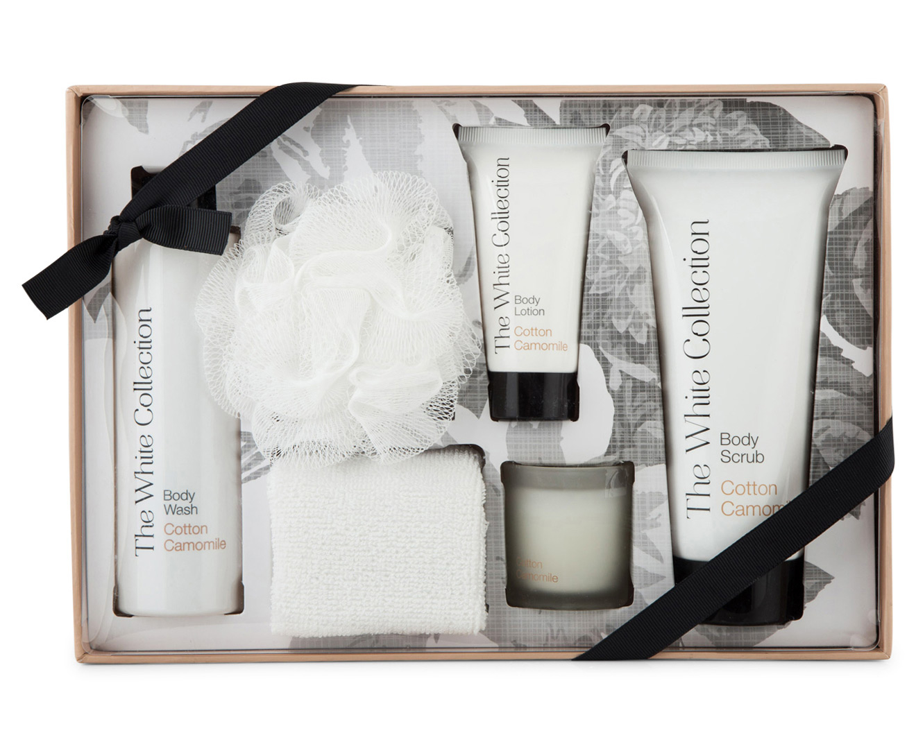The White Collection Cotton Camomile Body Pamper Pack