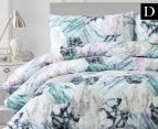 Belmondo Travetine Double Bed Quilt Cover Set - Multi 1
