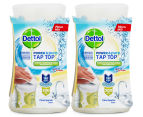 2 x Dettol Power & Pure Tap Top Surface Cleaner Citrus Sparkle 415mL 1