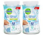 2 x Dettol Power & Pure Tap Top Surface Cleaner Oxygen Splash 415mL 1