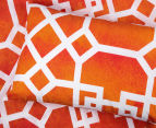 Belmondo Byzantium King Bed Quilt Cover Set - Orange 4