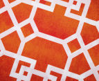 Belmondo Byzantium King Bed Quilt Cover Set - Orange 5