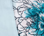 Sheridan Anscombe King Bed Quilt Cover Set - Aquamarine 6