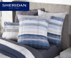Sheridan Hillside Single Bed European Pillowcase - Midnight 1