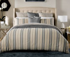 Sheridan Hemming Queen Bed Quilt Cover Set - Peat 2
