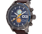 Diesel Men's 59mm Double Down 2.0 Chronograph Watch - Brown 3