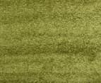 Chicago Shag 150x80cm Plain Rug - Green 4