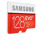 Samsung 128GB EVO Plus Micro SDXC w/ SD Adaptor 2