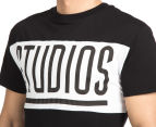 Dead Studios Men's Squad Panel Tee - Black 6