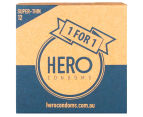 HERO Super Thin Condoms 72pk 2