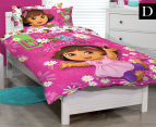 Dora The Explorer Double Bed Quilt Cover Set - Multi 1