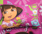 Dora The Explorer Double Bed Quilt Cover Set - Multi 3