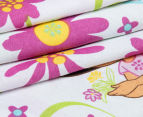 Dora The Explorer Double Bed Quilt Cover Set - Multi 5