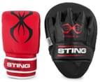 STING Arma XT Focus Combo Training Kit - Black/Red 1