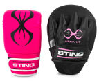STING Arma XT Focus Combo Training Kit - Black/Pink 1