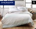 Sheridan Warrigal Single Quilt Cover Set - Celadon 1