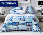 Sheridan Holtby Single Quilt Cover Set - Sky 1