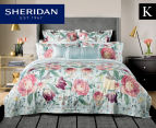 Sheridan Harbar King Bed Quilt Cover Set - Willow 1