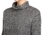 All About Eve Women's Viking Knit Jumper - Charcoal 6