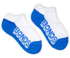 Bonds Kids' Logo Low Cut Socks 3-Pack - Purple/Blue/Pink 2