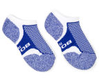 Bonds Kids' Ultimate Comfort Low Cut Socks 2-Pack - Blue/Red 3