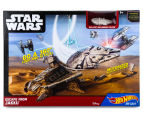 Hot Wheels Star wars Escape from Jakku Play Set 1