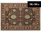 Arya Beauty Classic Collection Zara 290x200cm Large Rug - Brown 1