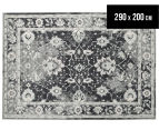 Arya Beauty Classic Collection Zara 290x200cm Large Rug - Navy 1