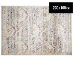 Belle Exquisite 230x160cm Medium Rug - Silver 1