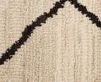 Bedouin Tribal Etching 230x160cm Medium Plush Rug - Cream 5
