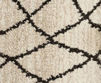 Bedouin Tribal Reflections 230x160cm Medium Plush Rug - Cream 5