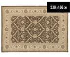 Arya Beauty Classic Collection Estelle 230x160cm Medium Rug - Brown 1