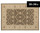 Arya Beauty Classic Collection Estelle 330x240cm X Large Rug - Brown 1