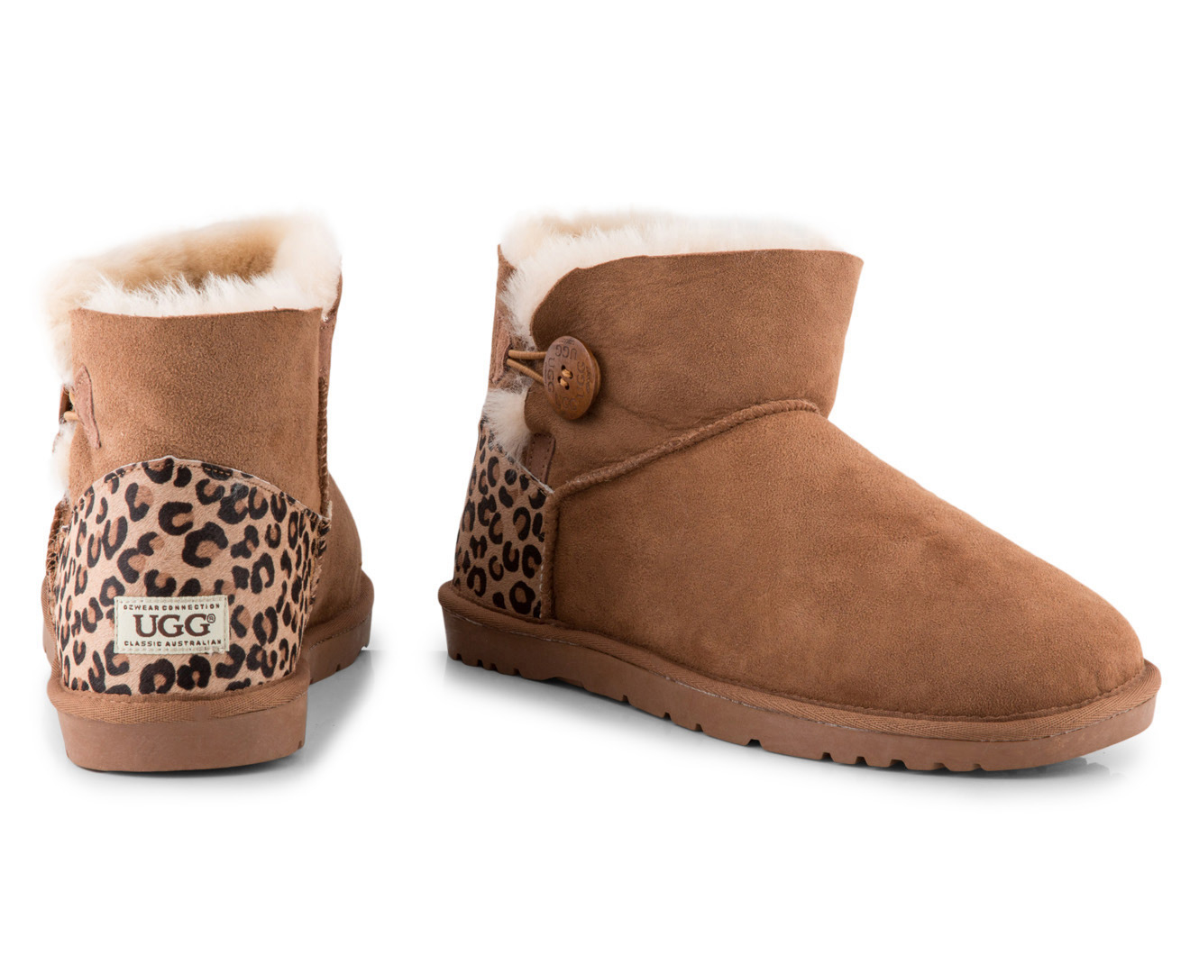 6950fbab562 Ozwear Connection Button Ugg Boot
