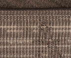 Bedouin Tribal Grid 290x200cm Large Plush Rug - Brown 6