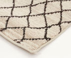 Bedouin Tribal Reflections 330x240cm X Large Plush Rug - Cream 3