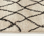 Bedouin Tribal Reflections 330x240cm X Large Plush Rug - Cream 4