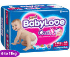 BabyLove Crawler Nappies 6-11kg, 44-Pack 1
