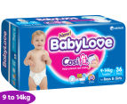 BabyLove Nappies Toddler 9-14kg, 36pk 1